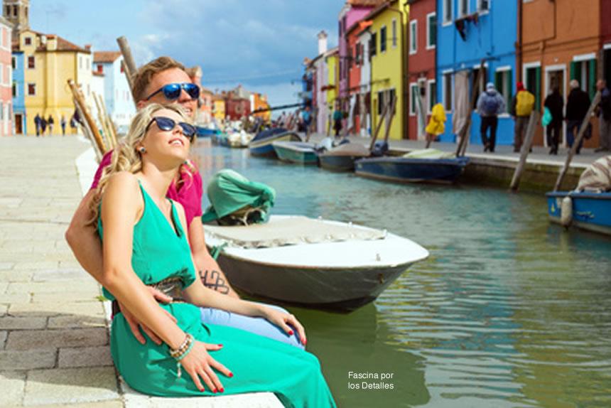 La experiencia de viajar te aumenta la mente global.