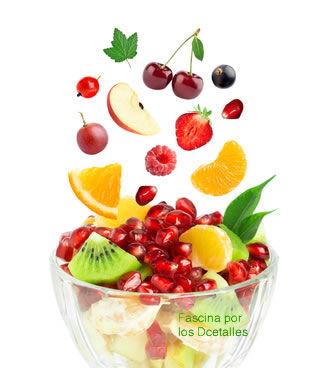 Come fruta y verduras