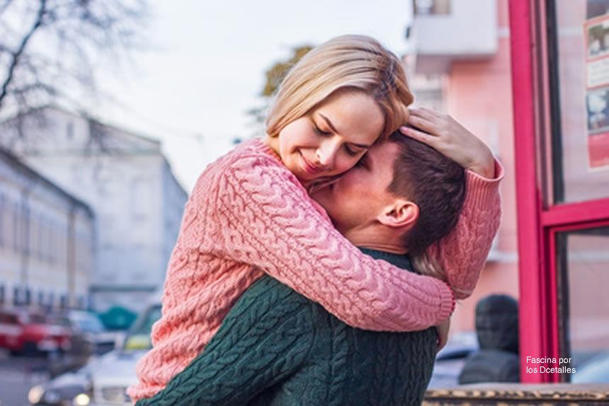 Los beneficios del abrazo