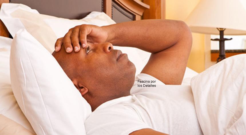 Insomnio sin poder conciliar un sueño reparador