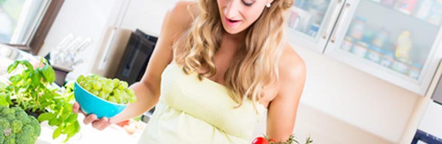 Alimentos que si debes y no comer durante el embarazo